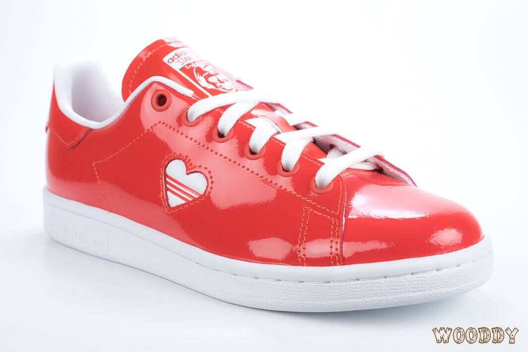 adidas Stan Smith Rouge - G28136   Wooddy