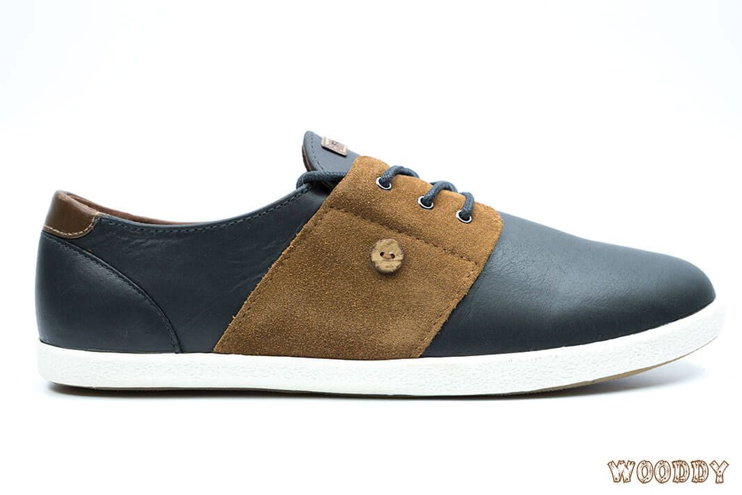 Faguo Cypress Leather Suede Graphite
